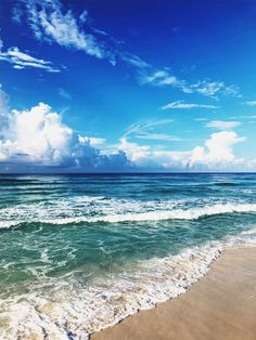 I know I'm not alone when I say the beach and ocean are my happy places. The more I'm in the ocean, the more I want to take care of… Sea And Ocean, Ocean Beach, Ocean Waves, Nature Beach, Ocean City, Hawaii Beach, Beautiful Ocean, Beautiful Beaches, Photo Lovers