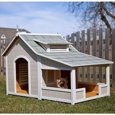 This is a dog house