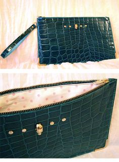 Bolso de cuero hecho a mano. Handcrafted leather bag.