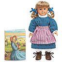 American Girl ® Kirsten books and Kirsten mini doll