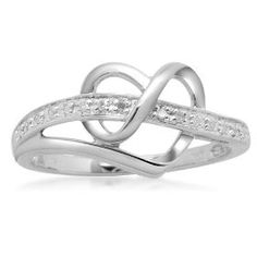 Infinity heart ring @Amy Gunkey I have no idea why, but I absolutely LOVE this ring!