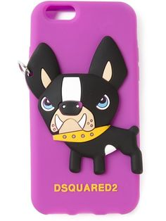 Shoppen DSQUARED2 iPhone 6-Hülle mit Hunde-Print von Divo from the world's best independent boutiques at farfetch.com. Over 1500 brands from 300 boutiques in one website.