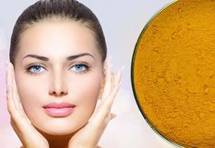 Turmeric mask recipe for a radiant complexion, acne, rosacea and dark circles Raw Beauty, Beauty Care, Health And Beauty, Beauty Makeup Tips, Beauty Hacks, Turmeric Mask, Homemade Acne Treatment, Tattoo Skin, Homemade Cosmetics