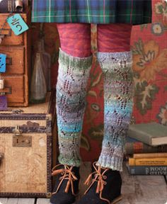Knit Noro Leg Warmers | Knitting - Free pattern