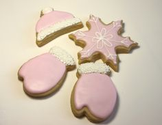 Pink Italian Sugar Cookie Recipe &  How to ice cookies