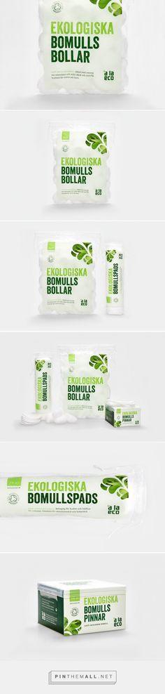 à la #eco #organic #cotton #packaging by Kollor - http://www.packagingoftheworld.com/2015/02/a-la-eco-organic-cotton.html