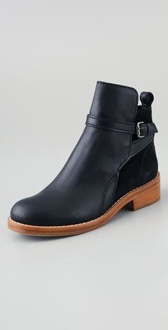 Acne Clover leather boots