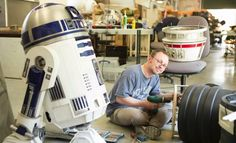 Oliver Steeples and Lee Towersey from the R2-D2 Builders Club Already Working on Rogue One.