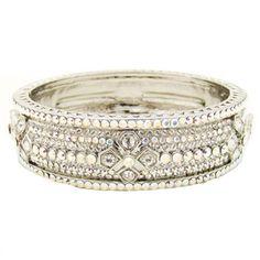 Butler and Wilson Multi Row Crystal Bangle Jewelry Gifts, Fine Jewelry, Jewellery, Daisy London, Butler & Wilson, Crystal Fashion, Animal Jewelry, Crystal Jewelry, Bangles