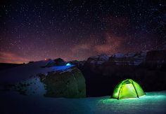 Night Camping by Max ., via 500px
