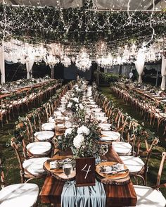 Blogger Olivia Lazaurdy's Bali wedding with fairy lights