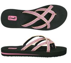 Teva Flip Flops are sooo soft! I have brown, but love the pink!