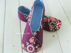 158 Woman Kimono Shoes PDF Pattern