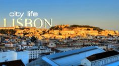 City Life: Lisbon by Daniel Santos. Footage from multiple views of the Lisbon city (Portugal). Visit Portugal, Portugal Travel, Lisbon Portugal, Lisbon Guide, Lisbon City, Travel Videos, Travel Tips, World Cities, Find Hotels