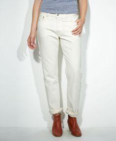 Levi's 501® Jeans for Women - White Pigment - Boyfriend
