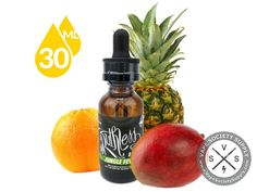 Jungle Fever by Ruthless Vapor 30ml is a tropical fruit inspired flavor of pineapples, mangos and citrus. It will become one of your favorite e-juices that you will keep coming back to.