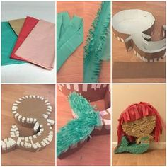 mermaid pinata diy - Google Search