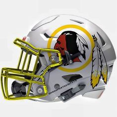 """How is that not racist ? How about Washington Powdery Whiteboys ? I'll bet that would upset the Caucasians as much as being called a """"redskin"""" angers those of us who are part Native American. Redskins Helmet, Football Helmet Design, College Football Helmets, Redskins Football, Redskins Fans, Sports Helmet, Football Gear, Football Uniforms, Football Memes"""
