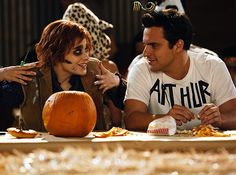 13 Must-See Halloween Themed TV Episodes . For some of us, Halloween lasts the entirety of October. The moment the clock hits AM on October we already have decorations up, candles lit, and candy consumed. Halloween News, First Halloween, Creative Halloween Costumes, Halloween Themes, Costume Halloween, Arthur Costume, Sherlock, Marshall And Lily, Nick And Jess