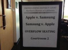 Apple vs Samsung, un juicio en el que perdemos todos