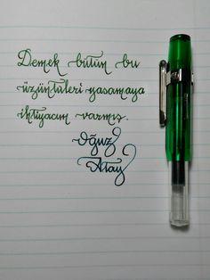 #pens #pen #fountainpen  #dolmakalem  #kaweco  #kawecosport  #ice  #demonstrate  #handwriting  #oğuzatay