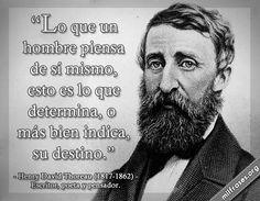 Henry David Thoreau, escritor, poeta y pensador.