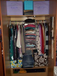1000 images about deco dormitorios armarios on - Como organizar un armario empotrado pequeno ...