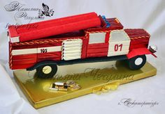 (1) Gallery.ru / Пожарная машина - Подарки пожарным - tatyana-che