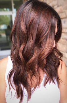 Black Coffee Hair With Ombre Highlights - 10 Cool Ideas of Coffee Brown Hair Color - The Trending Hairstyle Hair Color Auburn, Red Hair Color, Brown Auburn Hair, Fall Hair Colors, Brown Hair Colors, Reddish Brown Hair Color, Hot Hair Colors, Red Balayage Hair, Dark Red Balayage