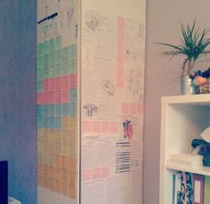 Put up need-to-know information like formulas, dates, and legislation on walls that you find yourself looking at all the time. Stick the notes in places you frequent often, like your bedroom and bathroom, to force yourself to read them.