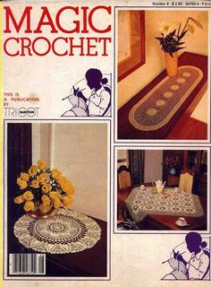Magic Crochet #8, August 1980