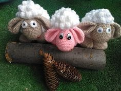 Bárány horgolása....1 Easter Crochet, Dinosaur Stuffed Animal, Teddy Bear, Make It Yourself, Toys, Youtube, Baby, Crafts, Animals
