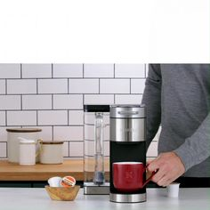 Your Coffee, Your Way. The Keurig K-Supreme Plus Brewer lets you customize the strength, size and temperature so you can make your perfect brew. Diy Kitchen Storage, Diy Kitchen Cabinets, Kitchen Organization, Kitchen Decor, Bathroom Cabinets, Diy Magazine Holder, Concert Lights, Pop Display, Display Stands