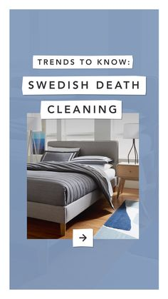 Swedish Death Cleaning is a gradual style of cleaning. Click for more spring #cleaning inspiration on the #CORT blog!