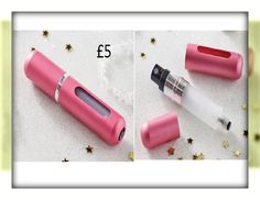 Travel Atomiser Refillable atomiser to carry your favourite perfume wherever you go. Clear tank window and tough plastic casing to prevent leakages. Extremely easy to fill, simply remove the spray nozzle from your favourite perfume, place atomiser over the tube and pump to fill. 5ml capacity. Size 8.5 x 2cm diam. COLLECTION/DELIVERY FROM ABERDEEN OR DIRECT DISPATCH VIA PAYPAL/CARD PAYMENT (£3.95 delivery) PM/COMMENT FOR DETAILS.