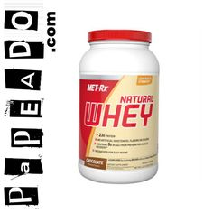 100% Whey Protein Natural (2Lbs) MET-Rx: http://papeado.com/tienda/proteinas/221-100-natural-whey-2-lbs-met-rx.html | *Digitel(WhatsApp): (0412)1902830; *Movilnet(Line): (0416)2049032; *Movistar: (0424)9519604; *E-mail: contacto@papeado.com