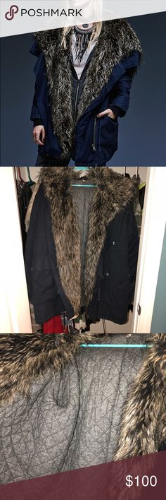 Free People Sweet Child Faux Fur Parka 🔍 All Damages & Defects Displayed (AMAZING CONDITION)🔎   💚REASONABLE Offers ALWAYS Accepted 💚  💮❌ I DO NOT TAKE TRADES ❌💮   🎁 If Interested In Bundle Comment Below🎁  🎀🛍 TWO OR MORE ITEMS 30% OFF🛍🎀  💌📦Orders Shipped Next Business Day📦 💌  ✳️✳️✳️TOP RATED SELLER✳️✳️✳️ Free People Jackets & Coats Utility Jackets