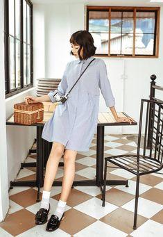 Đón thu ngọt ngào cùng những thiết kế váy liền tay lỡ mà giá chưa quá 700 ngàn đến từ các thương hiệu Việt - Ảnh 9.