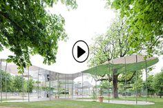 Serpentine Gallery Pavilion 2009 by Kazuyo Sejima & Ryue Nishizawa of SANAA 12 July - 18 October Architecture Details, Landscape Architecture, Landscape Design, Architecture Graphics, Chinese Architecture, Architecture Office, Futuristic Architecture, Zaha Hadid, Westminster
