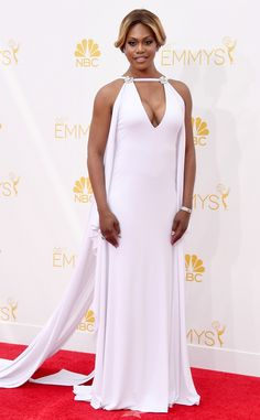 Laverne Cox from My First Emmys | E! Online