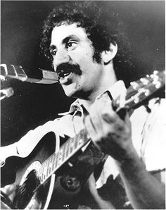 Jim Croce as he appeared at his last performance in Natchitoches, LA, Sept 21, 1973. He and five others were killed when his plane crashed near Natchitoches airport. He was 30.