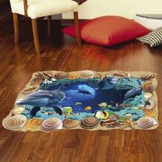 SHARE & Get it FREE | Removable 3D Sea Caves World Decoration Bedroom Kindergarten Floor StickerFor Fashion Lovers only:80,000+ Items • New Arrivals Daily • Affordable Casual to Chic for Every Occasion Join Sammydress: Get YOUR $50 NOW!