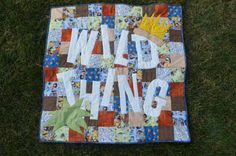 Where the Wild Things Are Quilt by TheMidnightQuilter on Etsy, $39.99