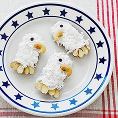 July 4th Regal Eagle Cookies