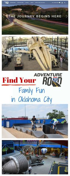 Find Your Adventure Road and  don't miss the family fun in Oklahoma City |