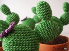Gateando Crochet: Patrón Cactus Amigurumi