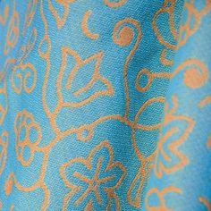 Sestrice Folk Cote d'Azur 100% cotton woven wrap
