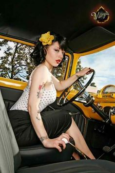 Hot Rod Girl sticking to it!