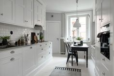 I like everything about this kitchen in Gothenburg, Sweden [1082 × 722]