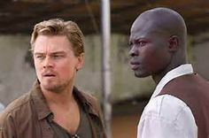 Sometimes I wonder, will God ever forgive us for what we've done to each other?...Then I look around and I realize,  God left this place a long time ago...(Danny Archer) ...... Blood Diamond